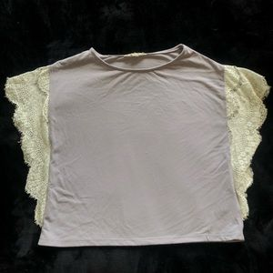 Lace Edged Blouse